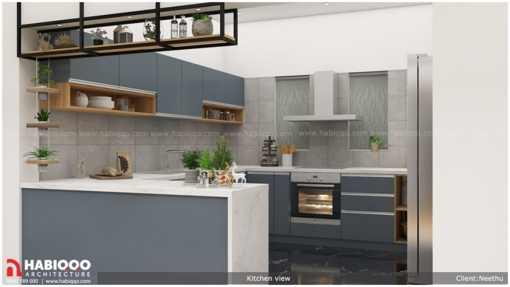 Kitchen space from Habiqqo designing